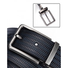 CROSSTEN Genuine Cowskin Leather Dual-Side Belt with Rotatable Buckle (Size 3.8 x 125 cm) MGB001 - No DC