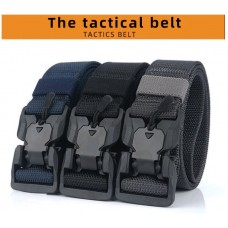 Tactical Elastic Belt Hard ABS Magnetic Buckle (3.8 x125cm)