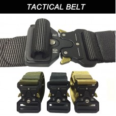 Tactical Nylon Hard Belt Metal Buckle (3.8 x125cm) - Out of Stock