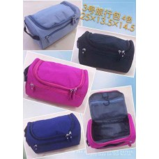 Cosmetic Bag Oxford CB1005 - (Mixed color 6 pcs/Pack)