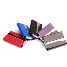 Credit Card Holder Case Aluminum Alloy Black CC002