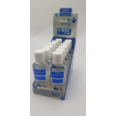 Hand Sanitizer Non-Sticky Anti-Bacterial Gel 60ml (12 ea / Counter Display Box)  - No DC
