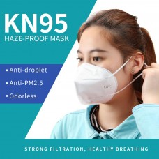 KN95 5-Layer Face Mask (Size : 19.7 x 13.6 x 1.6cm) (10 ea / Pack)  - No DC