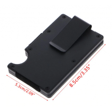 Credit Card Holder ABS With Aluminum Metal Anti RFID function ( 5 Mixed Color in Pack)