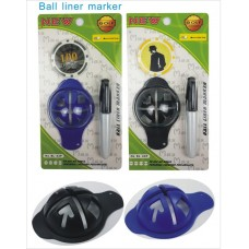 Golf Ball Line Marker Set (6ea/Pack) No DC