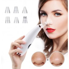 Blackhead Remover Nose T Zone Pore Acne Pimple Removal by Vacuum Suction Tool - No DC