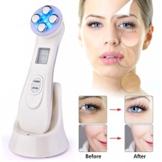 Electroporation LED Photon Facial RF Radio Frequency Device for Skin Rejuvenation and for Tightening Face Lift - No DC