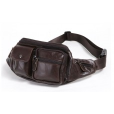 CROSSTEN High Quality 100% Cowhide Genuine Leather Waist Bag - No DC