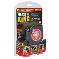 3 in 1 Digital Tape With Roll Cord Mode Measure King High Impact Professional Measuring Tool Laser Measure - No DC