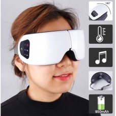 Eye Massager compressed by Air with Bluetooth Music Function and Heated Goggles Anti Wrinkles Eye Care