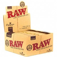 RAW Smoking Paper 110mm with Tips  (24 ea / Display Box)  - ($0.75/ea)