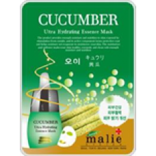 Face Mask Malie Cucumber (No DC) 10 ea/Pack