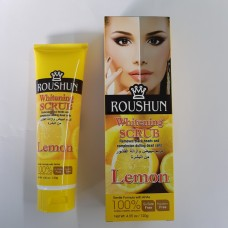 ROUSHUN Whitening Scrub Cream Lemon 120 gram (12ea/Box)