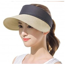 Straw Suncap (5ea Mixed color /Pack)