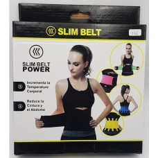 Adjustable Slimming Waist Support for Fitness Training Blue (Size : L)