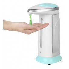 Touchless Sensor-Activated Liquid Soap Dispenser 400ml White