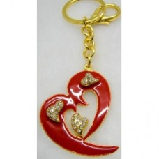 Key Rings Heart (4.7X3.7cm) (NO DC)