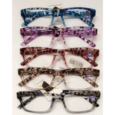 Reading Glass with the Retractable Spring  1.0 <LS001> / 5 Color Mixed (20ea/Box) -No DC - Out of Stock