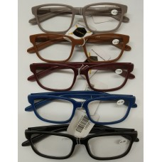Reading Glass with the Retractable Spring  1.0 <US001> / 5 Color Mixed (20ea/Box) -No DC - Out of Stock