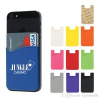 3M Adhesive Silicone Credit Card Holder (12ea) Mixed Color (No DC)