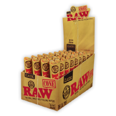 RAW 78mm Paper Cone  6 Paper Cone / Tube  (32 Tube / Dipslay Box)  - ($0.85/Tube)