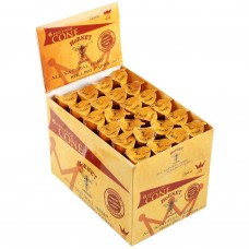 Hornet 78mm All Nature Hemp Rolling Paper 6 Paper Cone / Tube (24 Tube / Display Box) - ($0.87/Tube)