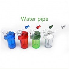 Smoking Glass Pipe with Water Container 30ml JL-773 ( 9ea/Display Box)