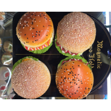Squeeshy Hamburger 9.5 x 6cm (26 gram) 12 ea/pack (No DC)